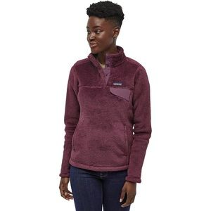 Patagonia plum snap-t fleece (repaired hole) S